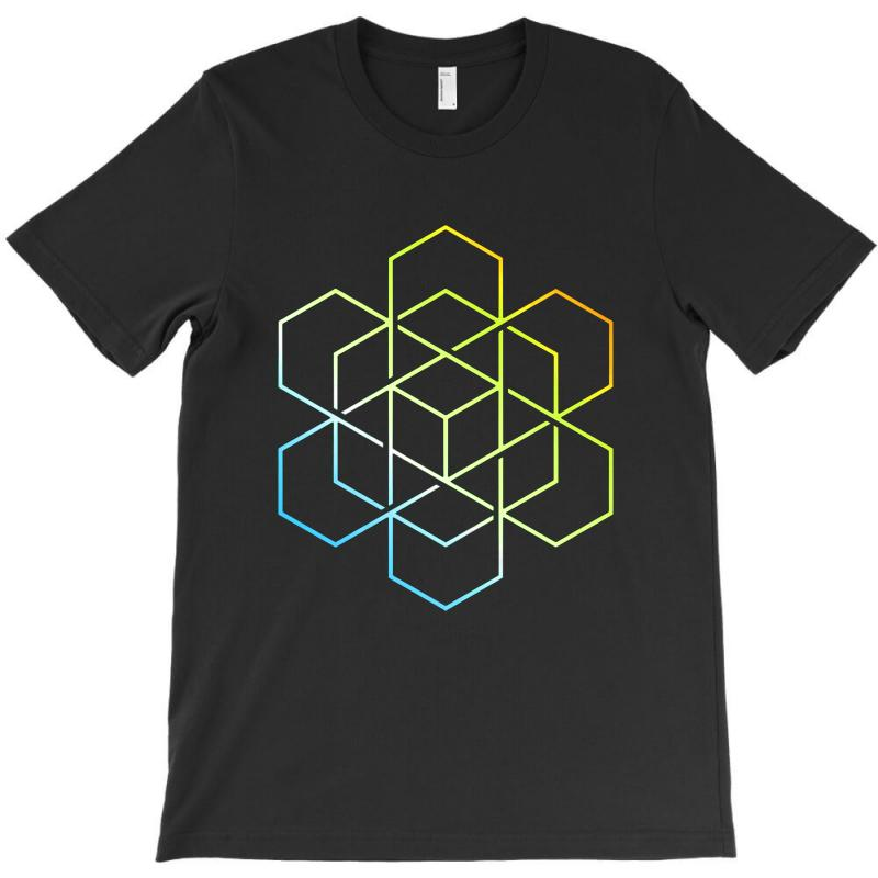 Hexagradient T-shirt | Artistshot