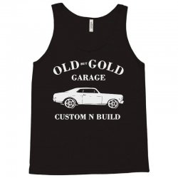 old but gold calssic car Tank Top | Artistshot