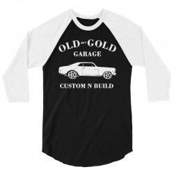 old but gold calssic car 3/4 Sleeve Shirt | Artistshot