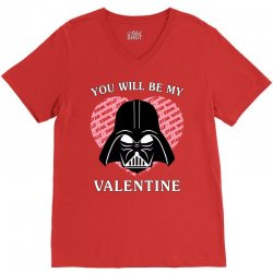 you will be my valentine V-Neck Tee | Artistshot