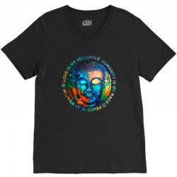 love is my religion V-Neck Tee | Artistshot