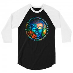love is my religion 3/4 Sleeve Shirt | Artistshot