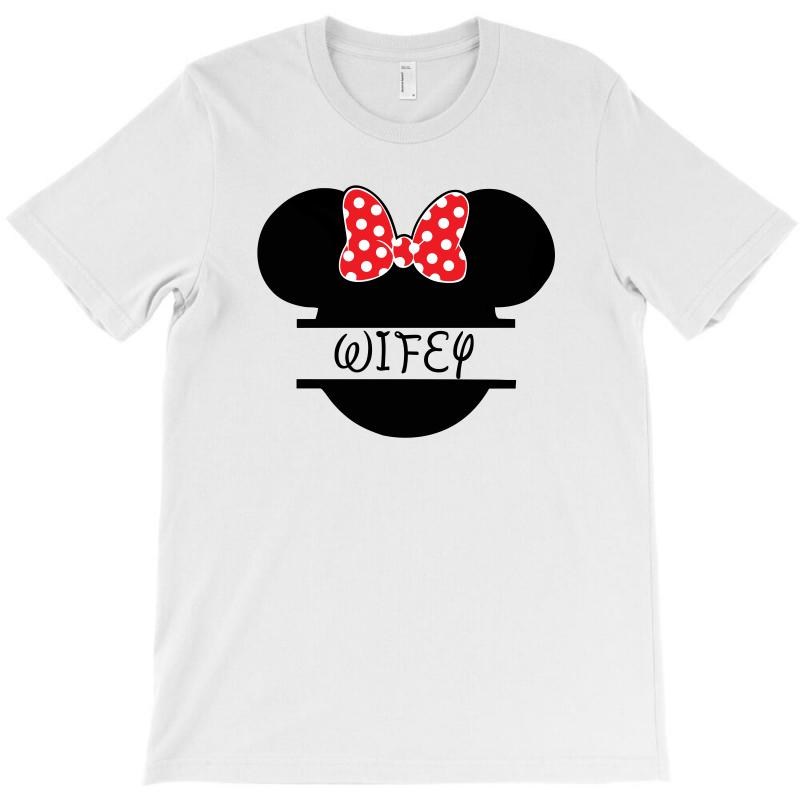 Wifey Minnie Mouse For Light T-shirt | Artistshot