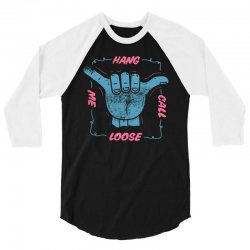 perspective hang call me loose 3/4 Sleeve Shirt | Artistshot