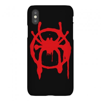 Into The Spider - Verse Iphonex Case Designed By Meza Design