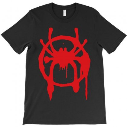 Into The Spider - Verse T-shirt Designed By Meza Design