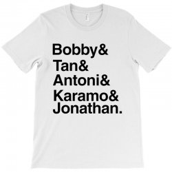 queer eye (names) black T-Shirt | Artistshot