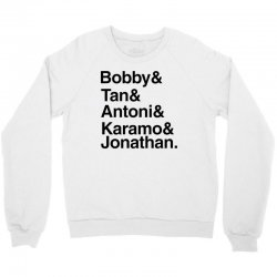 queer eye (names) black Crewneck Sweatshirt | Artistshot