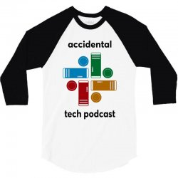 accidental tech podcast 3/4 Sleeve Shirt | Artistshot
