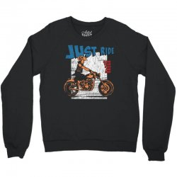 close your eyes and ride Crewneck Sweatshirt | Artistshot