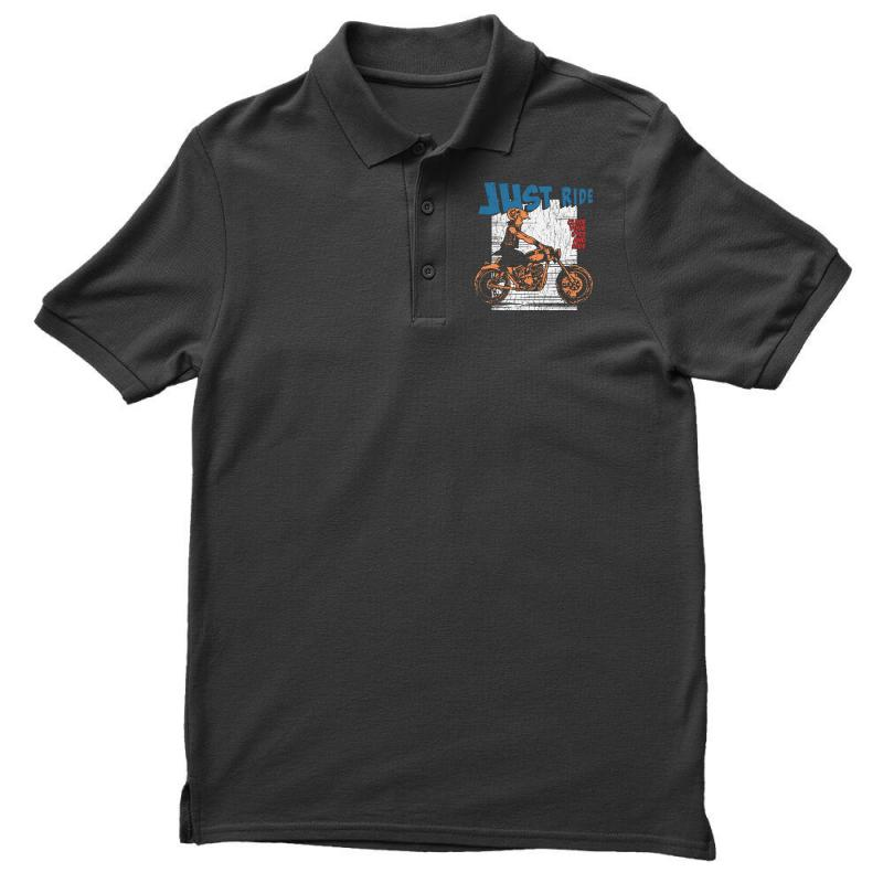 Close Your Eyes And Ride Men's Polo Shirt | Artistshot