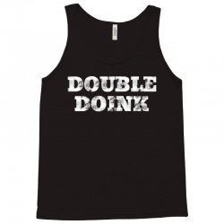 double doink white Tank Top | Artistshot