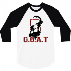 football goat 3/4 Sleeve Shirt | Artistshot