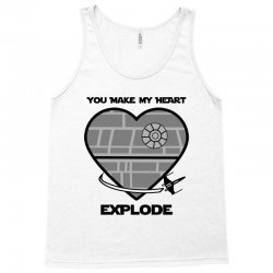 you make my heart explode for light Tank Top | Artistshot