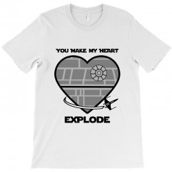 you make my heart explode for light T-Shirt | Artistshot