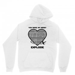 you make my heart explode for light Unisex Hoodie | Artistshot