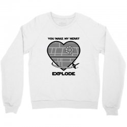 you make my heart explode for light Crewneck Sweatshirt | Artistshot