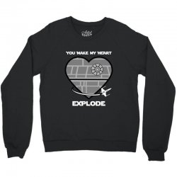 you make my heart explode for dark Crewneck Sweatshirt | Artistshot
