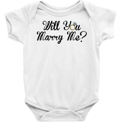 Will You Marry Me For Light Baby Bodysuit