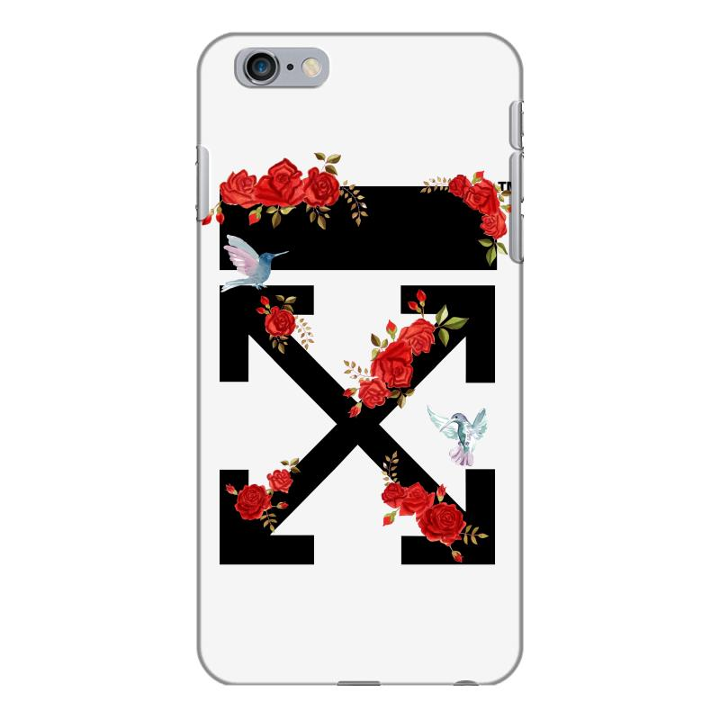 huge selection of 4c5ff a8ce9 Off White Rose For Light Iphone 6 Plus/6s Plus Case. By Artistshot