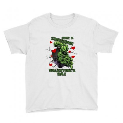 Have A Smashing Valentine's Day Youth Tee Designed By Zeynepu