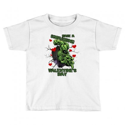 Have A Smashing Valentine's Day Toddler T-shirt Designed By Zeynepu