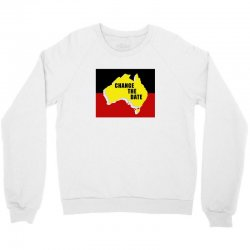 change the date Crewneck Sweatshirt | Artistshot