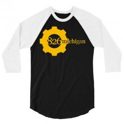826 michigan 3/4 Sleeve Shirt | Artistshot