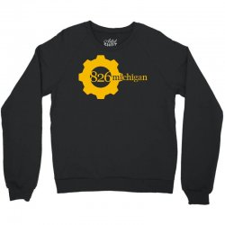 826 michigan Crewneck Sweatshirt | Artistshot