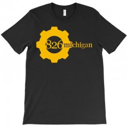 826 michigan T-Shirt | Artistshot