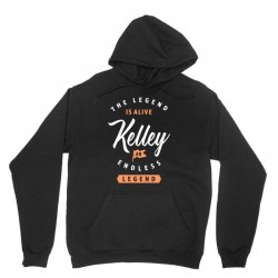 The Legend Is Alive Kelley Unisex Hoodie | Artistshot