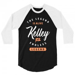 The Legend Is Alive Kelley 3/4 Sleeve Shirt | Artistshot