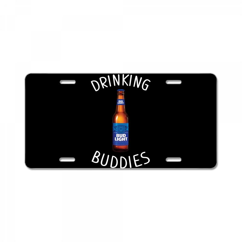 Drinking Buddies Bud Light License Plate | Artistshot
