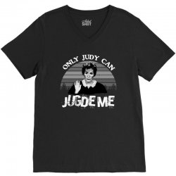 only judy can judge me V-Neck Tee | Artistshot