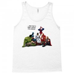 and that's how i saved the world jesus Tank Top | Artistshot