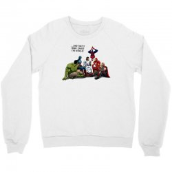 and that's how i saved the world jesus Crewneck Sweatshirt | Artistshot