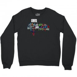 and that's how i saved the world Crewneck Sweatshirt | Artistshot