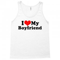 i love my boyfriend valentine's day Tank Top | Artistshot