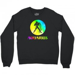 aquarius astrological sign Crewneck Sweatshirt | Artistshot