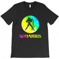 aquarius astrological sign T-Shirt | Artistshot