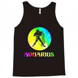 aquarius astrological sign Tank Top | Artistshot
