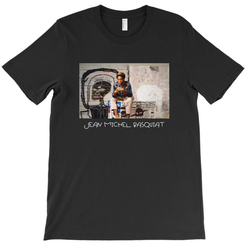 Jean Michel Basquiat For Dark T-shirt | Artistshot