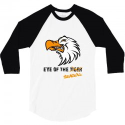 eye of the seagull for light 3/4 Sleeve Shirt | Artistshot