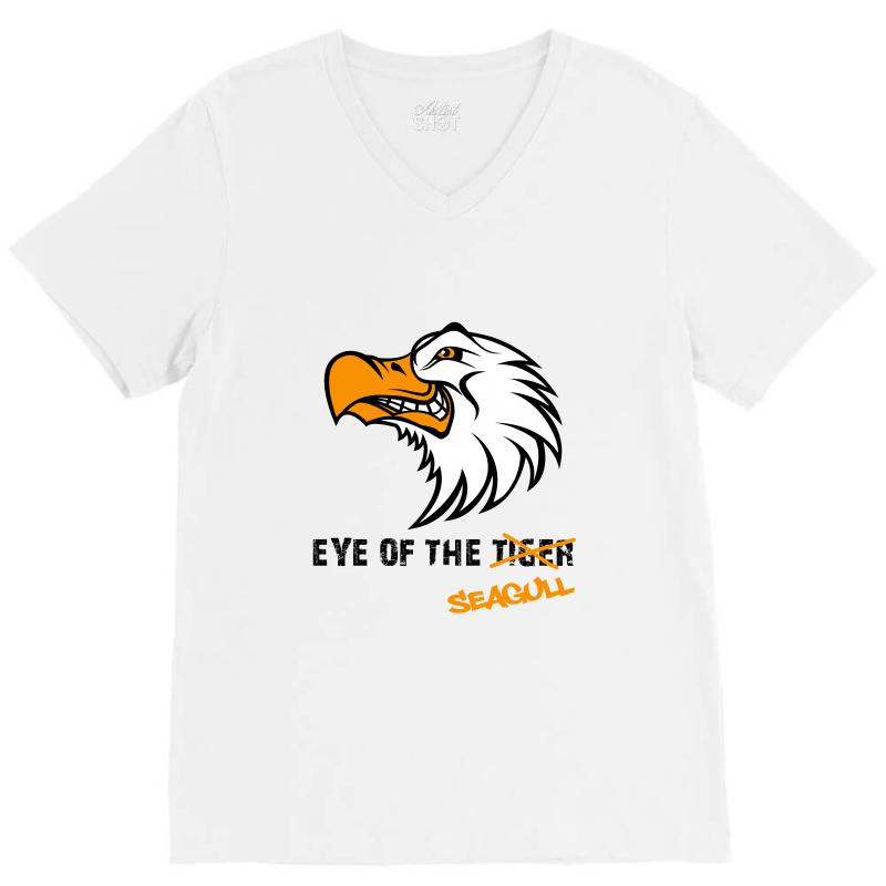Eye Of The Seagull For Light V-neck Tee | Artistshot