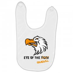 eye of the seagull for light Baby Bibs | Artistshot