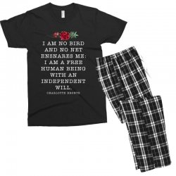 charlotte bronte for dark Men's T-shirt Pajama Set | Artistshot