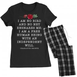 charlotte bronte for dark Women's Pajamas Set | Artistshot