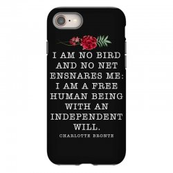charlotte bronte for dark iPhone 8 Case | Artistshot