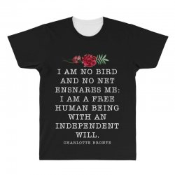 charlotte bronte for dark All Over Men's T-shirt | Artistshot