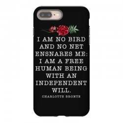 charlotte bronte for dark iPhone 8 Plus Case | Artistshot